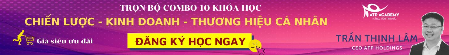 Khóa học Combo 10 - Trần Thịnh Lâm