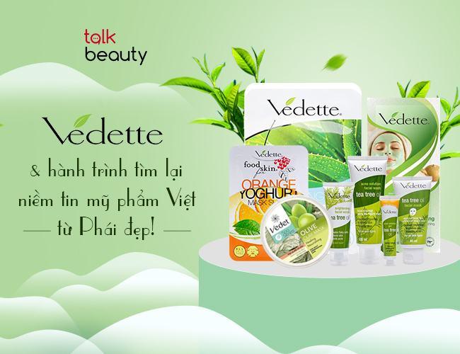 Công ty mỹ phẩm cao cấp Việt Nam Vedette
