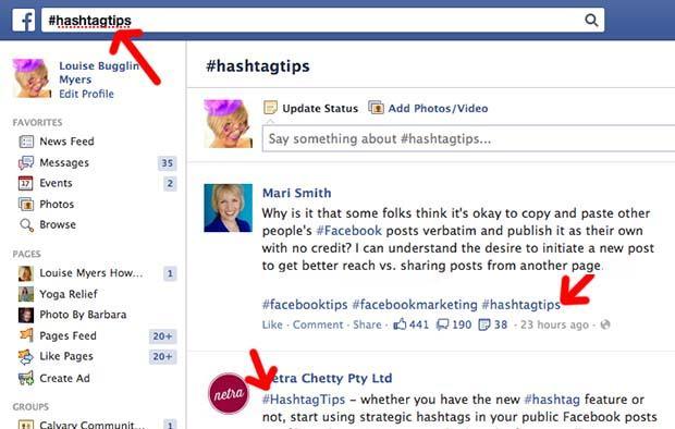 Lợi ích của việc sử dụng hashtag trên facebook