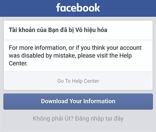 Image result for Report tài khoản Facebook người khác
