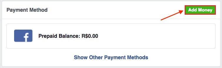 cách nạp tiền quảng cáo trên facebook