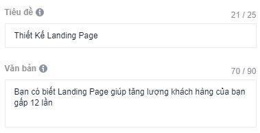 Tạo quảng cáo facebook