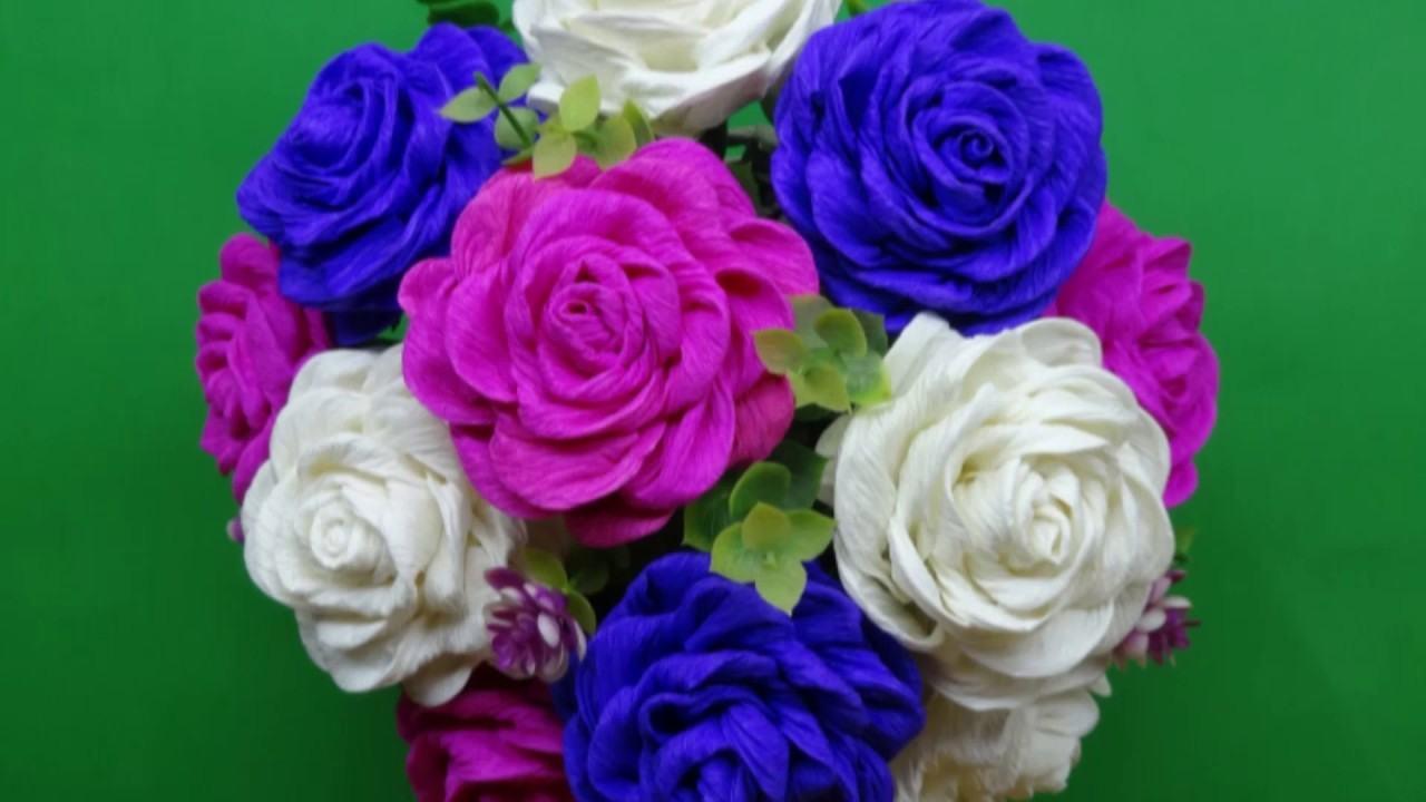 Hướng dẫn làm hoa bằng giấy
