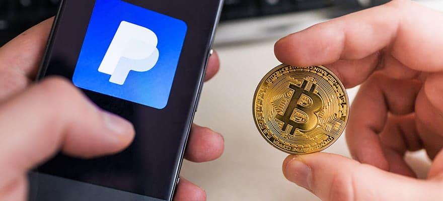 PayPal cho phép mua, bán và mua sắm bằng tiền mã hóa