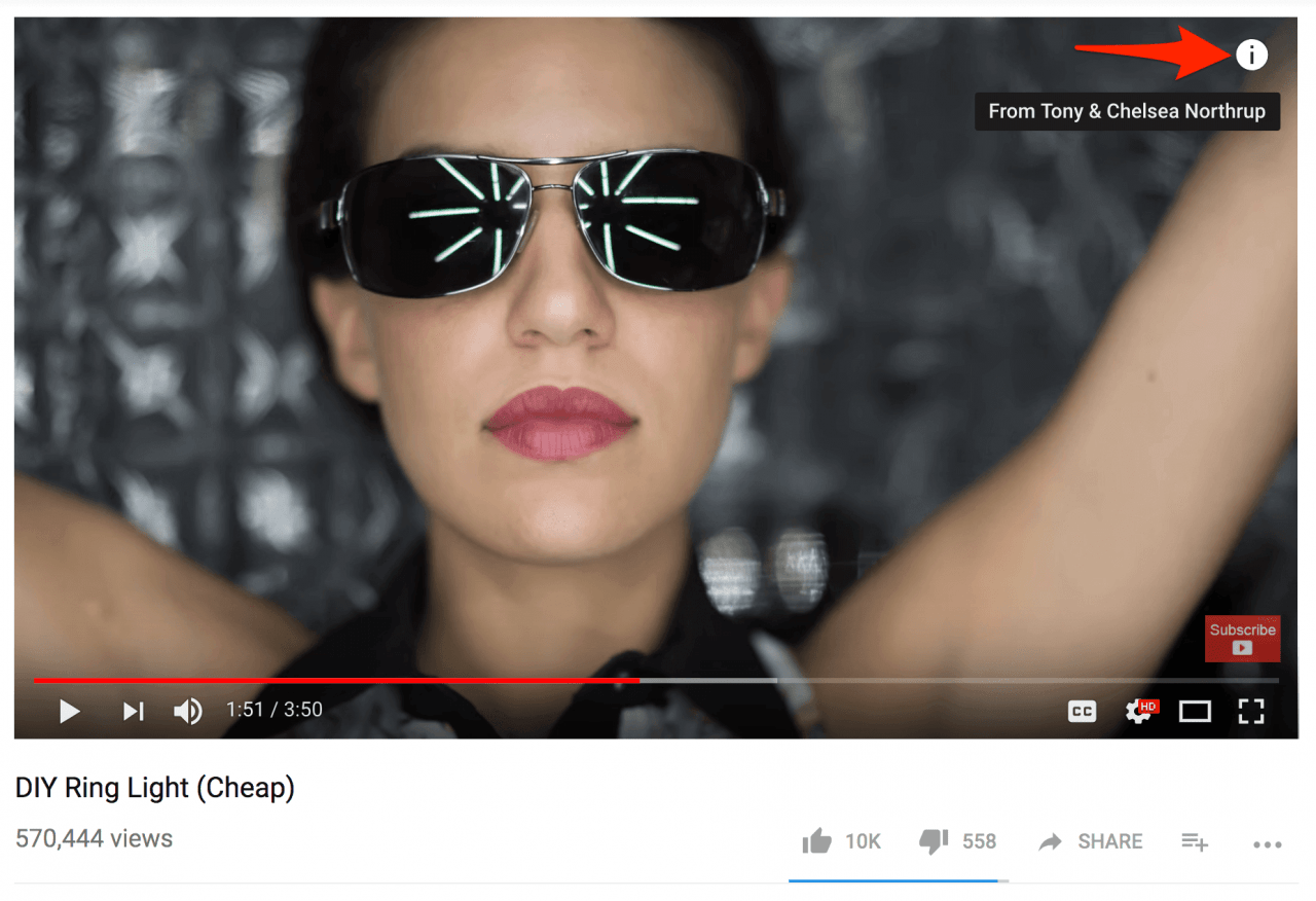 Quảng cáo video Sponsored Card trên YouTube