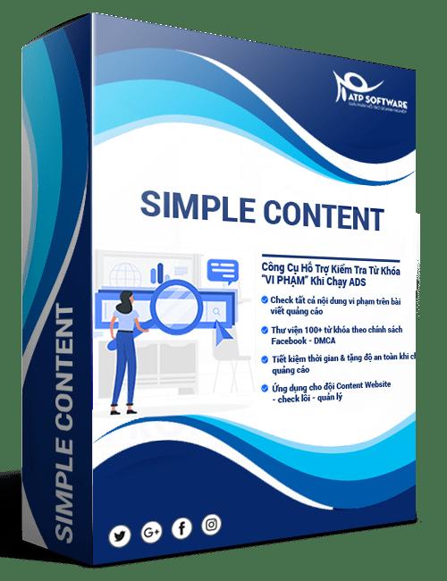 simple content