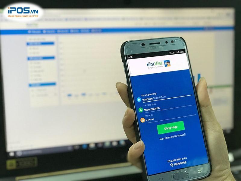 phần mềm quản lý bán hàng trên điện thoại kiotviet