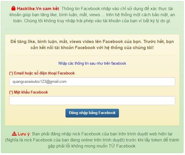 cách hack like facebook đơn giản
