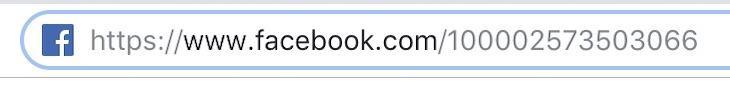 paste dãy số đó vào phía sau link facebook.com/