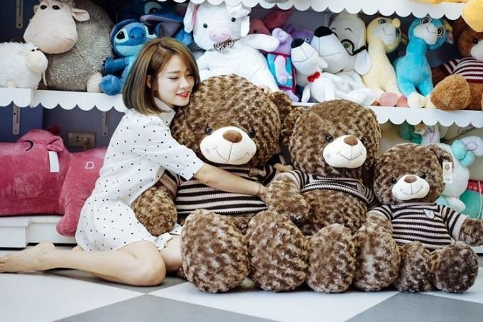 gau teddy chinh hang 1