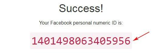 Lấy uid Facebook