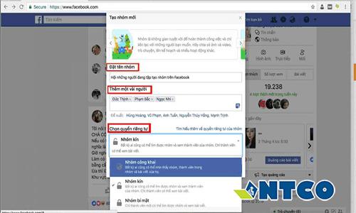 tao va xoa group facebook 2 1