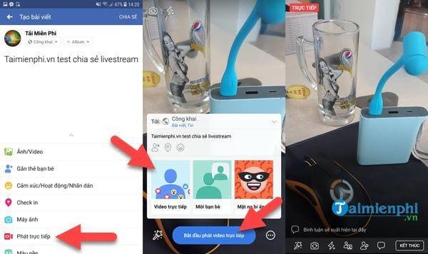 huong dan share LiveStream vao group facebook 2