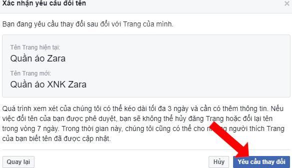 Cách chỉnh sửa tên fanpage Facebook