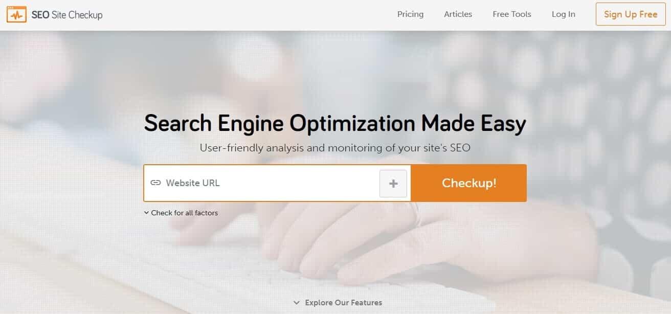 Công cụ SEO Site Checkup