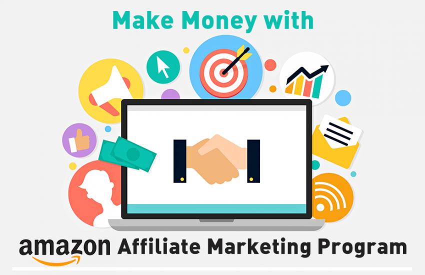 Kiếm tiền với Affiliate Amazon, hướng dẫn tiếp thị liên kết Amazon