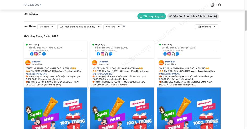 Target vào khách hàng của đối thủ trên Faceboo Ads - Hãy nhớ vài mẫu quảng cáo của họ để khi nó xuất hiện trên Facebook của bạn thì lưu lại