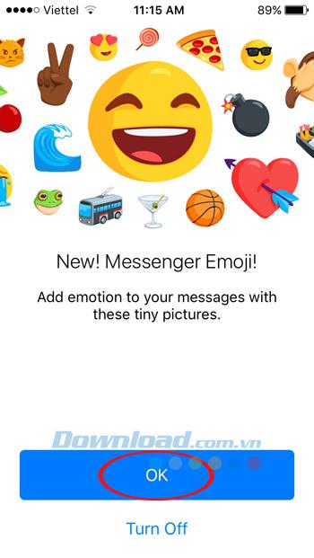 Thêm Emoji mới