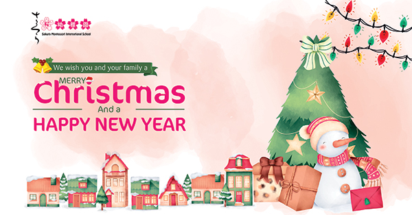 Chờ đón mùa Giáng sinh ấm áp tại Hệ thống Trường Mầm non Sakura Montessori