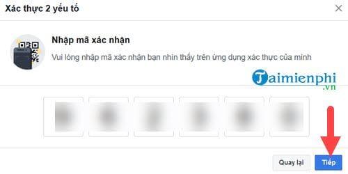 cach xac thuc 2 yeu to facebook khong can dung so dien thoai 11