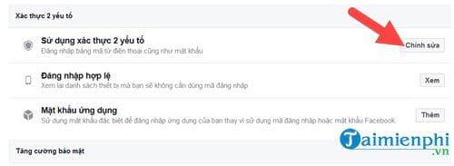 cach xac thuc 2 yeu to facebook khong can dung so dien thoai 4