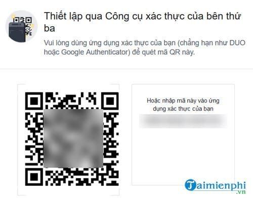 cach xac thuc 2 yeu to facebook khong can dung so dien thoai 7