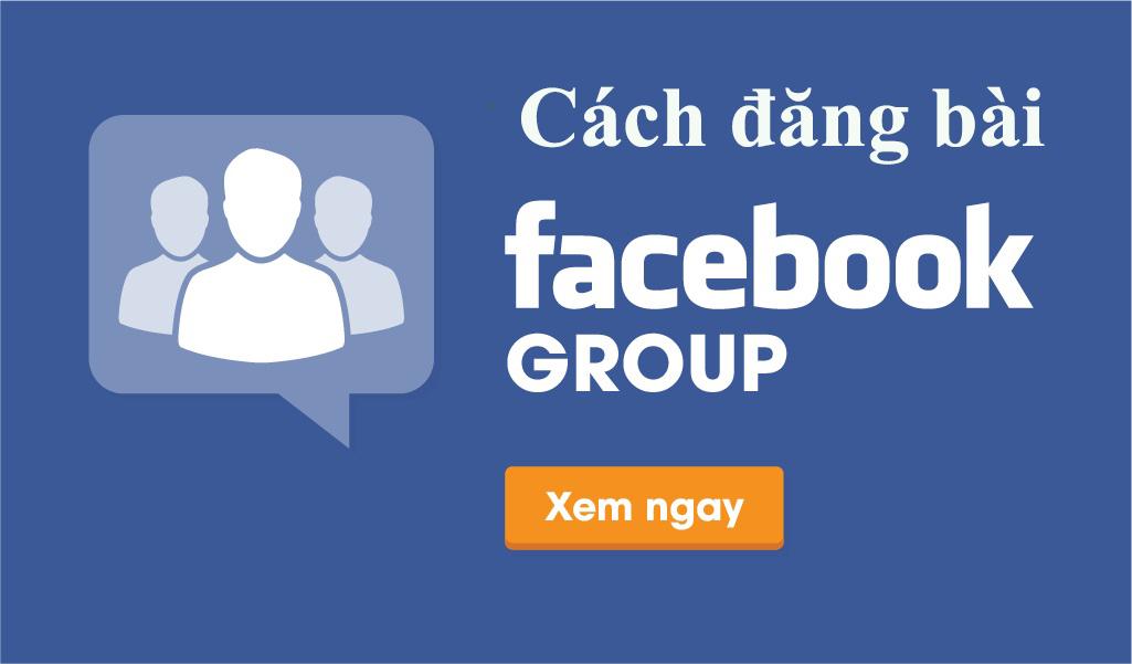 cách đăng bài lên nhiều nhóm Facebook