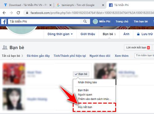 Huy ket ban tren Facebook 3