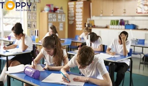 Học giỏi tất cả các môn lớp 8 Cố gắng làm bài tập ngay trên lớp