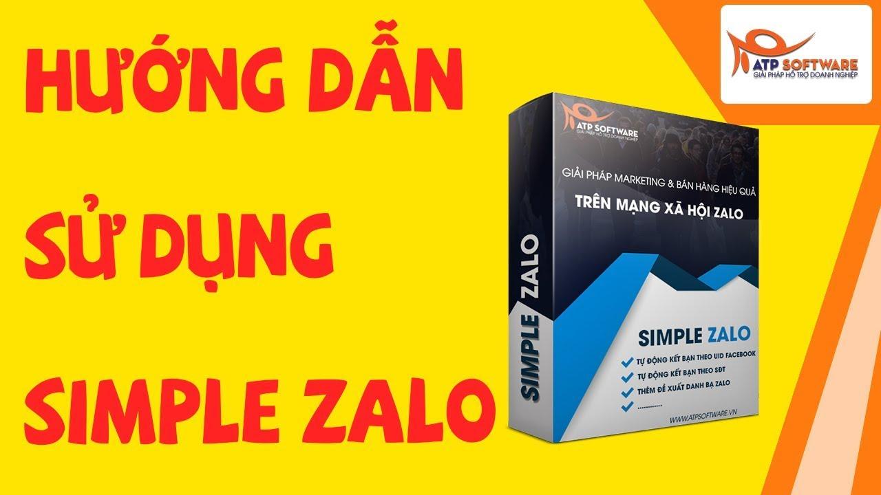 Simple Zalo là gì ? Hướng dẫn bán hàng với Simple Zalo - Social marketing, tiếp thị mạng xã hội