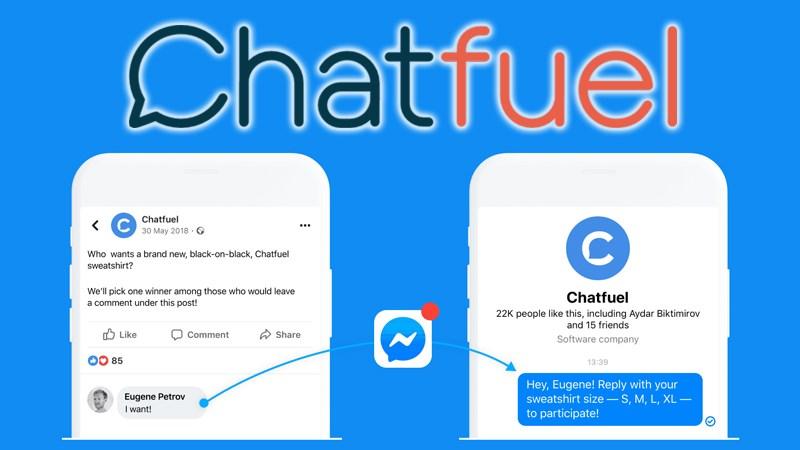 Công cụ tạo chatbot Chatfuel