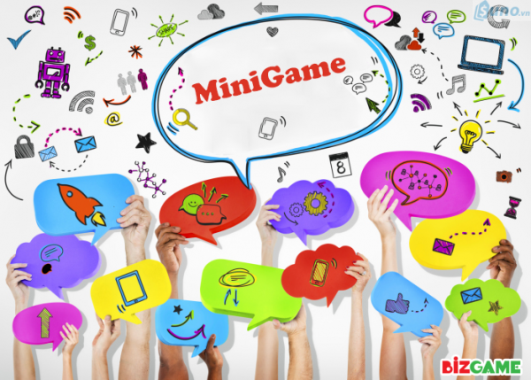 Thông qua các chương trình minigame, sale off