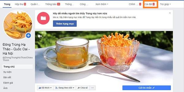 Huong dan thiet lap tu dong tra loi tin nhan tren fanpage facebook 1