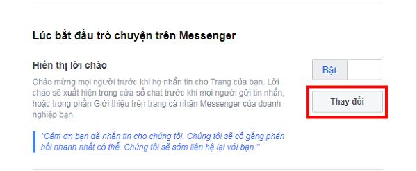 Huong dan thiet lap tu dong tra loi tin nhan tren fanpage facebook 7