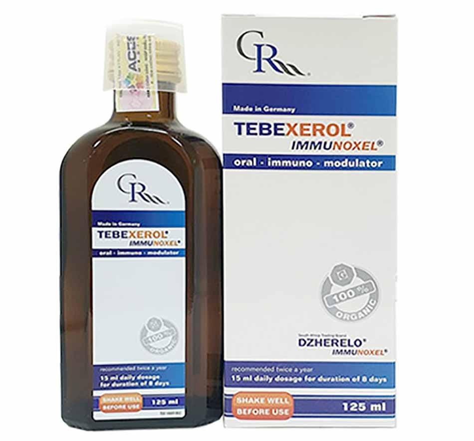 Tebexerol Immunoxel - sản phẩm phân phối độc quyền bởi hệ thống Central Pharmacy
