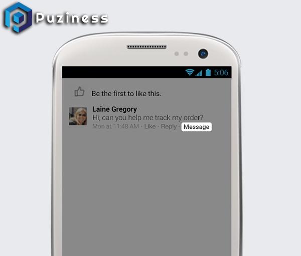 gửi tin nhắn với tư cách page