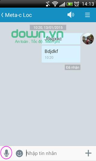 zalo sms 2