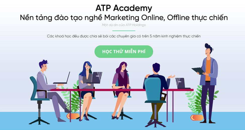 ATP Academy - đào tạo, cung cấp kiến thức kinh tế